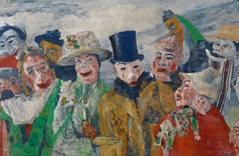 schilderij-de-intrige-james-ensor